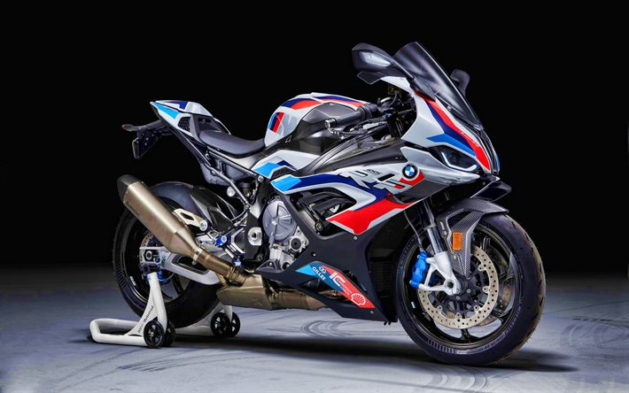 BMW M 1000 RR, 4k, superbikes, 2021 bikes, sportsbikes, 2021 BMW M 1000 RR, german motorcycles, BMW