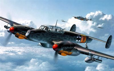 Messerschmitt Bf 110G-2, Luftwaffe, World of Warplanes