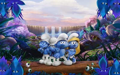 Smurfs 3, 2017, Smurfs The Lost Village, Creatures, Fabulous, Smurfette