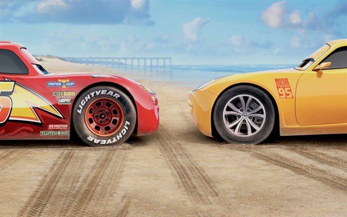 Download Wallpapers Cars 3 Cruz Ramirez Lightning