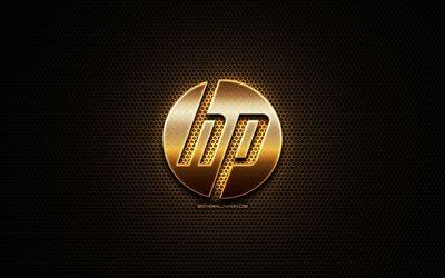 Download Wallpapers Hp Glitter Logo Hewlett Packard