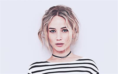 4k, jennifer lawrence, 2020, us-amerikanische schauspielerin, portrait, beauty, american, celebrity, jennifer shrader lawrence, lächeln, jennifer lawrence-foto-shooting