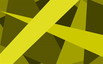 yellow lines, artwork, material design, geometric shapes, yellow backgrounds, geometric art, creative, background with lines