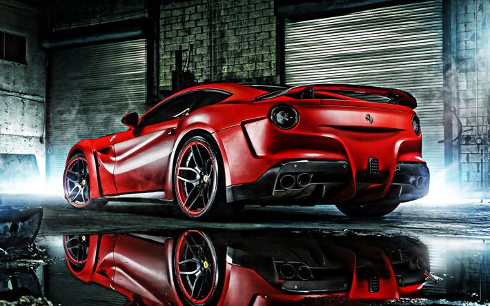 Herunterladen Hintergrundbild Ferrari F12 Tdf 2019 Hinten Außen Rot Supercar Der Neue Red F12 Tuning F12 Italienische Sportwagen Ferrari Für Desktop Kostenlos Hintergrundbilder Für Ihren Desktop Kostenlos