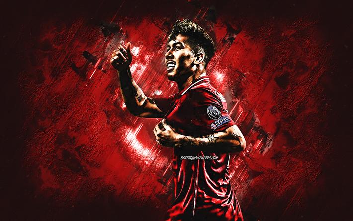 Download Wallpapers Roberto Firmino, Brazilian Footballer