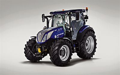 A New Holland T5 140, 2019, novo trator, modernas máquinas agrícolas, A New Holland