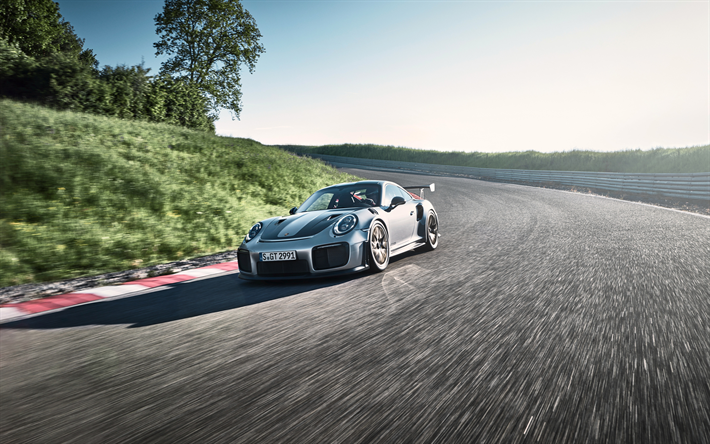 Download Wallpapers 4k Porsche 911 Gt2 Rs Raceway 2018