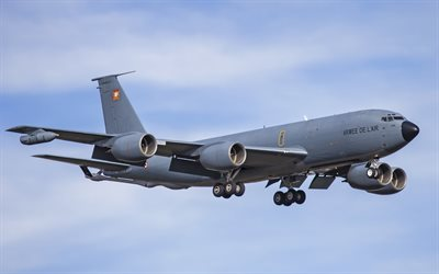 Boeing KC-135 Stratotanker, C-135FR, Airplane tanker, military aircraft, US Air Force, Boeing