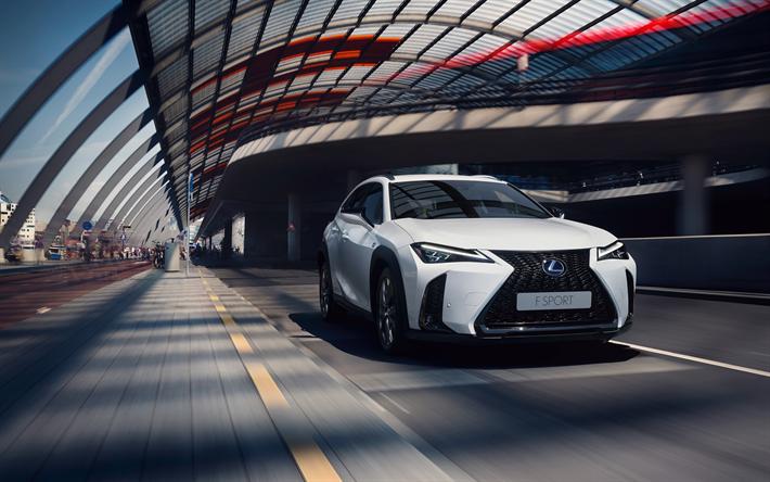 Download Wallpapers Lexus Ux F Sport 2018 250h Front View