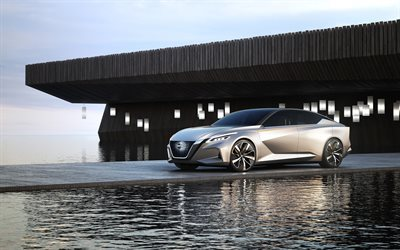 Nissan Vmotion Concept, luxury cars, 2017 cars, supercars, sedans, Nissan