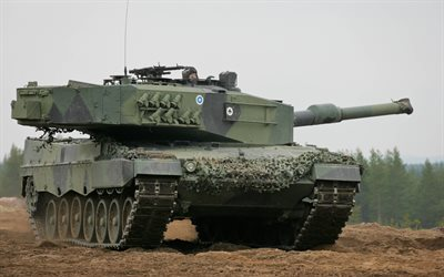 Leopard 2, German main battle tank, Germany, modern armored vehicles