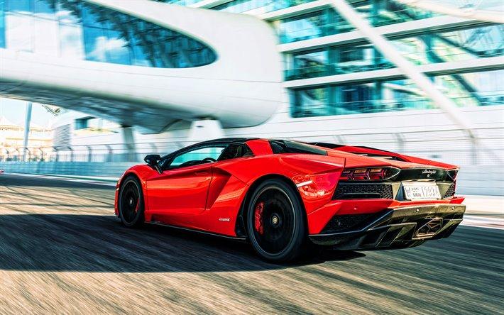 Resultado de imagen de Lamborghini Aventador Roadster rojo