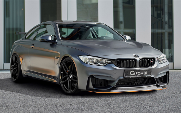 Download Wallpapers Bmw M4 Gts 4k 2017 G Power Gray