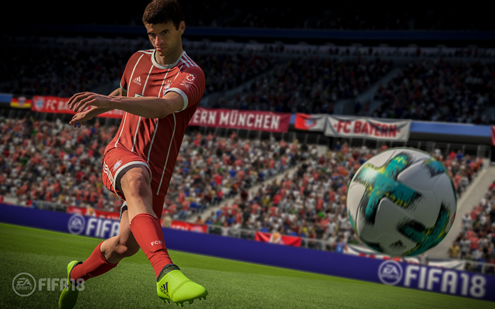 FIFA 18 Thomas Muller 4k 2017 Games Football Simulator FIFA18