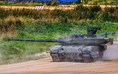 T-90M, modern Russian tank, main tank, Russia, T-90, training ground, exercises