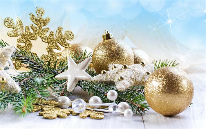 Sfondi Natalizi 4k.Scarica Sfondi Decorazioni Di Natale 4k Stelle Palle Felice Anno