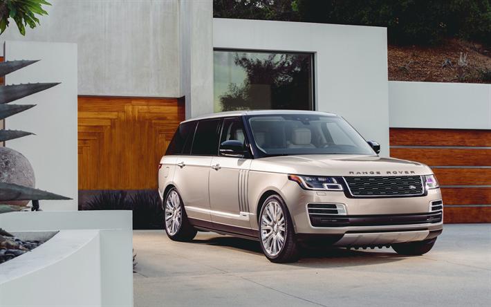 Download Wallpapers Range Rover Svautobiography 4k 2018