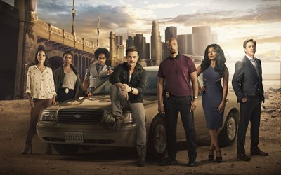 Lethal Weapon, 2019, TV series, poster, promotional materials, Jordana Brewster, Damon Wayans, Clayne Crawford, Keesha Sharp, Kevin Rahm