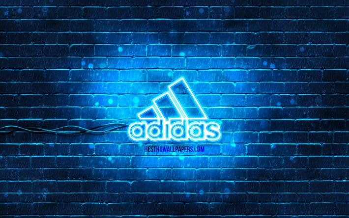 adidas logo Azul