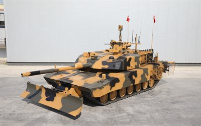 Altay, Turkish main battle tank, modern armored vehicles, Turkish Army, Turkey