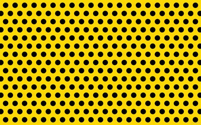yellow dotted backgroud, 4k, dotted patterns, circles patterns, yellow backgrouds, background with dots