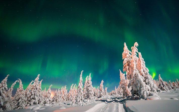 Scarica sfondi aurora boreale 4k le luci del nord for Sfondi desktop aurora boreale