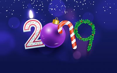 Download wallpapers happy new year 2019 for desktop free