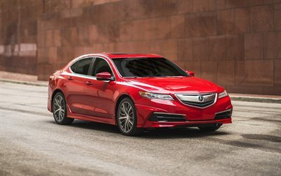 Acura TLX, 2017, GT Packages, Red TLX, new TLX, Japanese cars, Acura