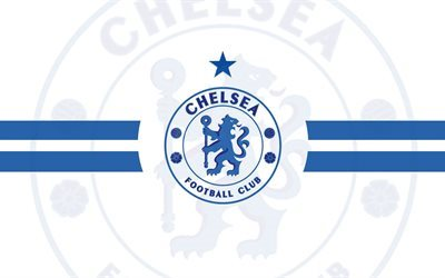 Premier League, Chelsea FC, white background, fan art