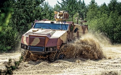 Tatra TITUS, Czech armored car, modern armored vehicles, military trucks, Tactical Infantry Transport