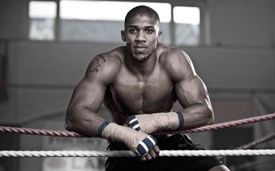 Anthony Joshua, British boxer, world champion, Olympic champion, boxing, IBF, WBA, IBO