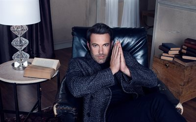 Ben Affleck, el actor estadounidense, de Hollywood, chicos