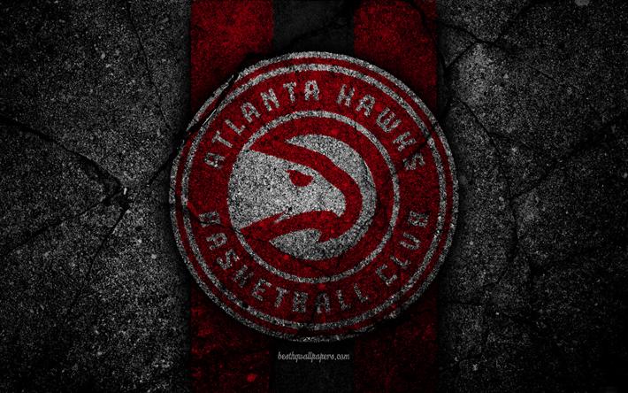 Descargar Fondos De Pantalla Atlanta Hawks De La Nba 4k