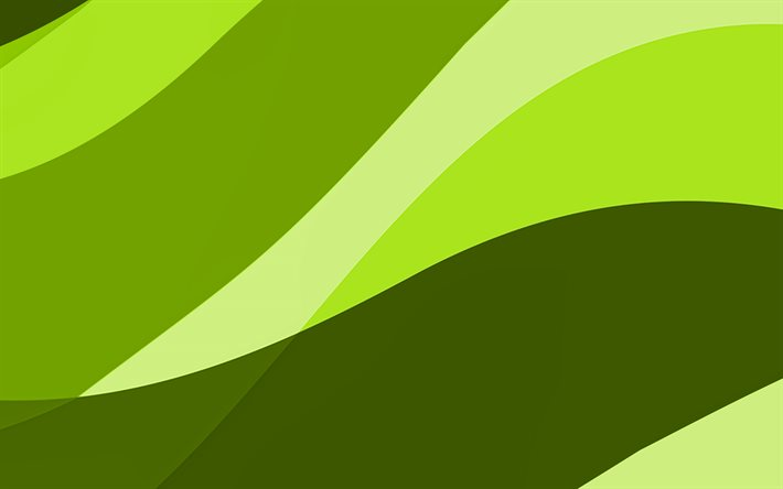 lime abstract waves, 4k, minimal, lime wavy background, material design, abstract waves, lime backgrounds, creative, waves patterns