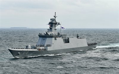 ROKS Daegu, FFG-818, Daegu-class frigate, Guided missile frigate, Republic of Korea Navy, South Korean frigate, warships