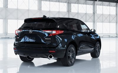 Download Wallpapers Acura Rdx 2019 4k Luxury Suv Exterior Rear