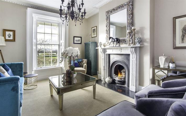 Scarica sfondi soggiorno classico stile degli interni, in stile ...