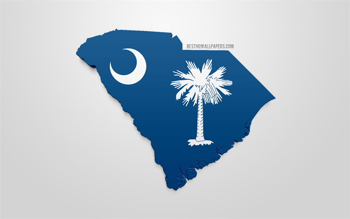 Download wallpapers 3d flag of South Carolina, map ... on georgia silhouette, red cross silhouette, north america silhouette, map of asia silhouette, virginia silhouette, canada silhouette, south america silhouette, world map silhouette, alabama silhouette, united states silhouette, japan map silhouette, wisconsin silhouette, california silhouette, globe silhouette, africa map silhouette, u.s. soldier silhouette, michigan silhouette, florida silhouette, europe map silhouette, usa states silhouette,