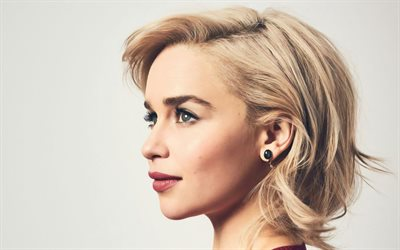 emilia clarke, porträt, profil, foto-shooting, us-amerikanische schauspielerin, hollywood-star, american, celebrity
