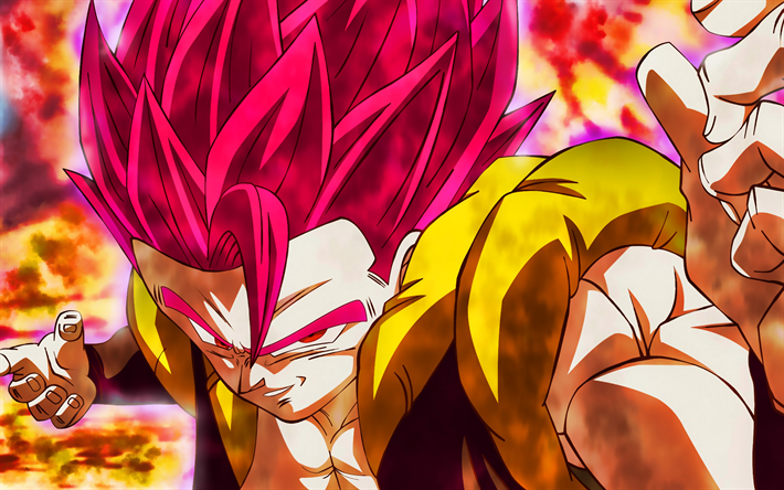 Download Wallpapers 4k Black Goku Fire Dbs Super Saiyan