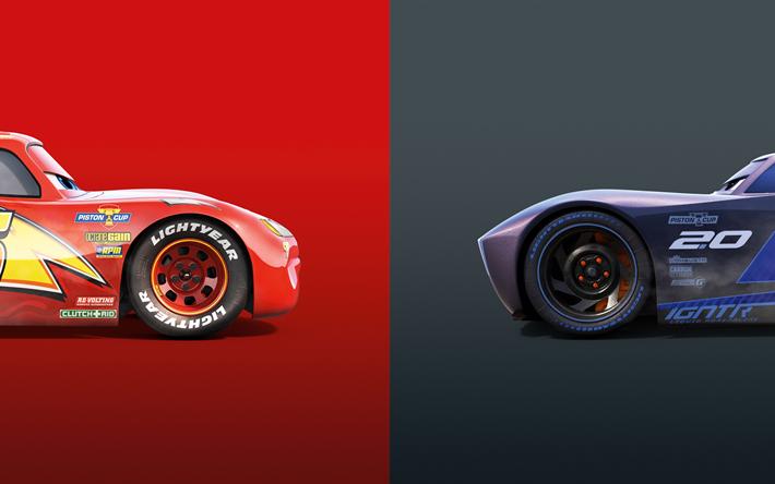 Download wallpapers Cars 3, 2017, 4K, Lightning McQueen ...