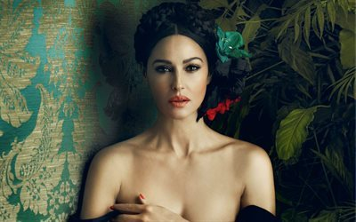 actress, monica bellucci, look, brunette, celebrity