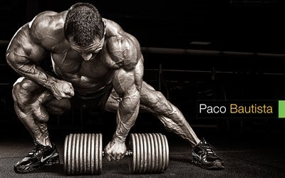 celebrity, bodybuilding, muscle, paco bautista