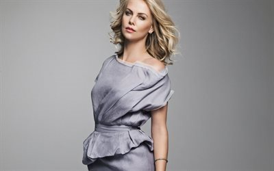 beautiful girl, look, actress, charlize theron, blonde, celebrity