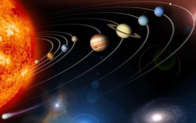 9 planets, sun, planet, accommodation