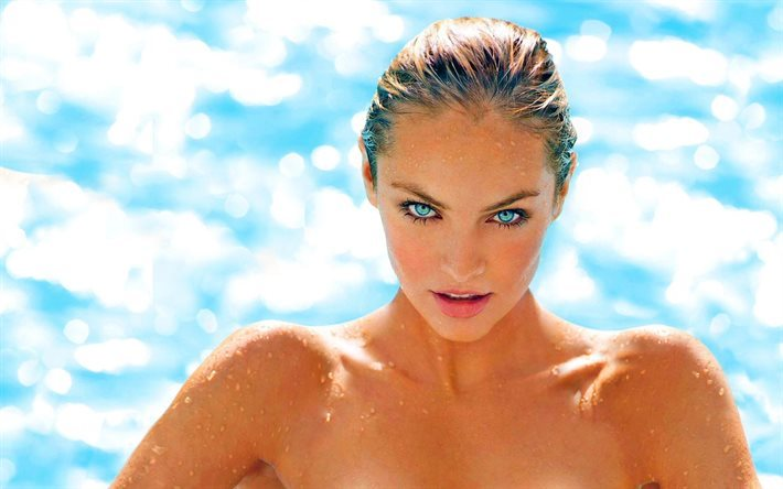 look, celebrity, candice swanepoel, sea, supermodels, beautiful girl