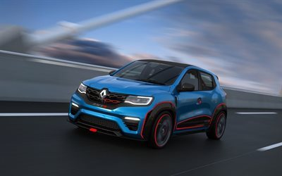 renault kwid, racer concept, 2016, concepts, crossovers, reno