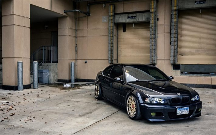 Download Wallpapers 325i Tuning Bmw M3 3 Series E46 Coupe