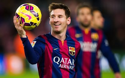 football star, barcelona, lionel messi, fc barcelona, player, ball, leo messi