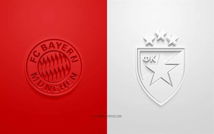 Download Wallpapers Fc Bayern Munich Vs Crvena Zvezda